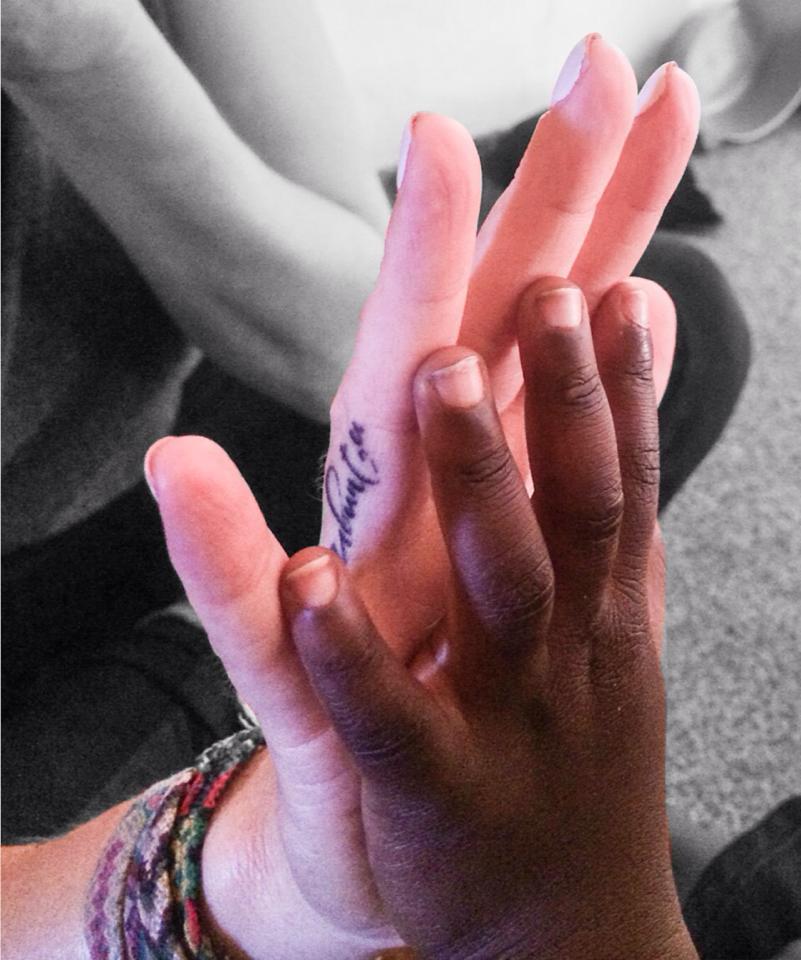 ubuntu hand